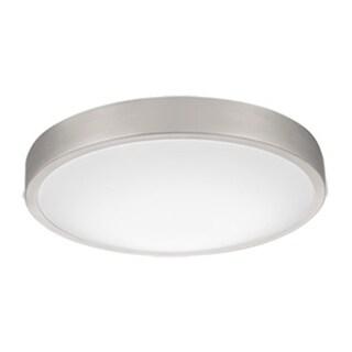 Lithonia Lighting FMLACL 14 20840 BA M4 Lacuna Brushed Aluminum 14-inch 4000K LED Flush-mount Round Ceiling Light