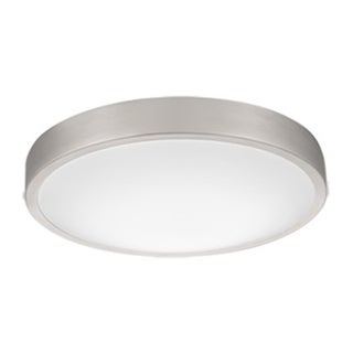 Lithonia Lighting FMLACL 14 20840 BA M4 Lacuna Brushed Aluminum 14-inch 4000K LED Flush-mount Round Ceiling Light