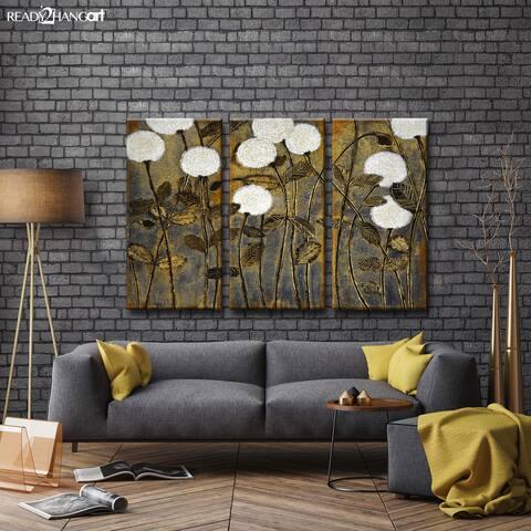 A Million Wishes I/II/III' by Norman Wyatt, Jr 3-Piece Wrapped Canvas Wall Art Set