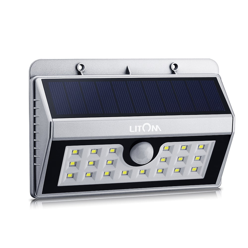 Coutlet Solar-powered Weatherproof Wireless 20 LED Securi...