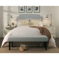 Republic Design House Grosvenor Dusty Aqua Headboard/ Padded Bench Collection