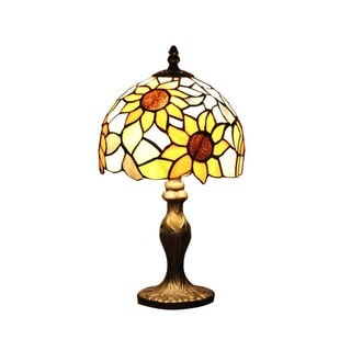 Sunflower Tiffany-style Table Lamp