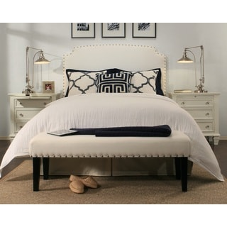 Grosvenor White Headboard-Bench Collection