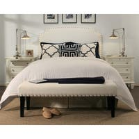 Republic Design House Grosvenor White Headboard/ Padded Bench Collection