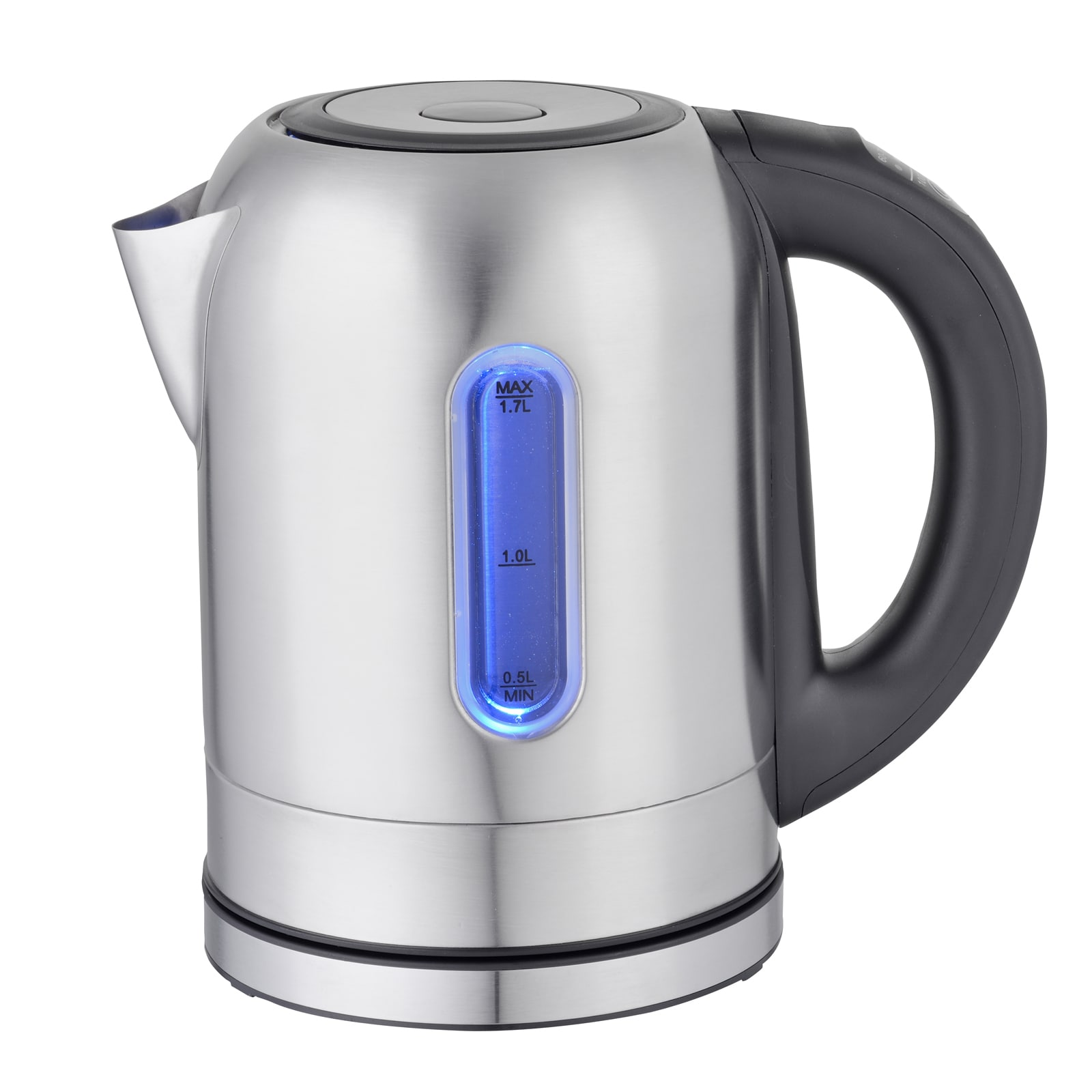 Mega Chef 1.7 liter Stainless Steel Electric Tea Kettle W...
