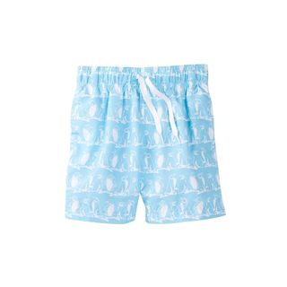 Freeze Boys' Blue Polyester Swim Shorts