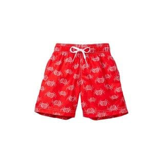 Crab Walk Boys' Red Polyester Swim Shorts (Option: Red)|https://ak1.ostkcdn.com/images/products/13109522/P19841503.jpg?impolicy=medium