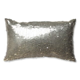 Pillow Perfect Mermaid Gold-White Throw Pillow