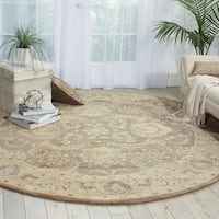 Nourison Jaipur Taupe Area Rug (8' x 8') - 8' x 8'