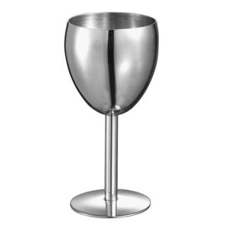 Visol Antoinette Stainless Steel Wine Glass