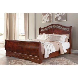 Signature Design by Ashley Lenmara Brown Bed