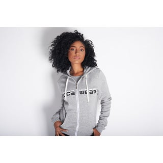Rocawear Women's Classic Signature Grey Cotton/Polyester Hoodie