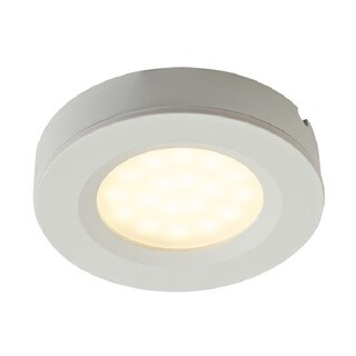 DALS White Plastic 1.4-watt LED 2-in-1 Puck Lights (Pack of 3)