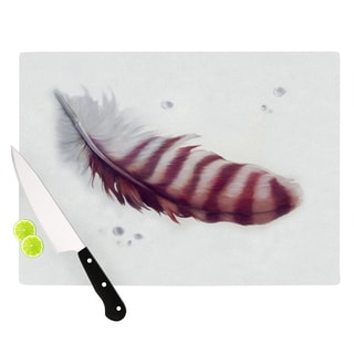 "KESS InHouse Lydia Martin ""The Feather"" Cutting Board"