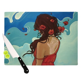 "KESS InHouse Lydia Martin ""Sea Swept"" Cutting Board"