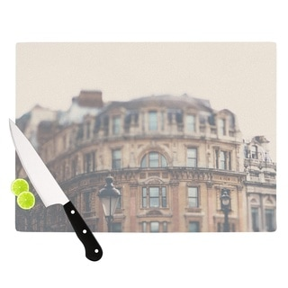 "KESS InHouse Laura Evans ""London Town"" Brown Cutting Board"