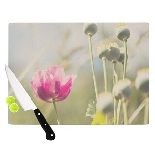 "KESS InHouse Laura Evans ""Looking Up"" Flower Cutting Board"