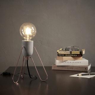 Teamson Versanora Rose Gold Finish Copper/Metal/Plastic Piccola Desk Lamp