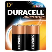 Duracell 4133309061 D Cell  Long Lasting Power Alkaline Batteries 2-count