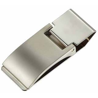 Visol Calvin Solid Metal Money Clip