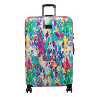 Skyway Luggage Haven 28-Inch Festive Shade Hardside Spinner Upright Suitcase