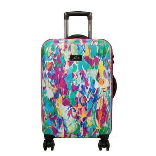 Skyway Luggage Haven 20-Inch Festive Shade Hardside Spinner Carry-On Upright Suitcase