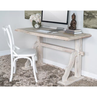 Kosas Home Nicosia Natural Sustainable Plantation Grown Mango Wood Desk