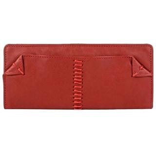 Hidesign Stitch Bi-fold Leather Wallet
