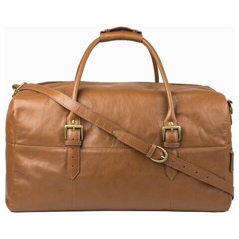Hidesign Charles Tan Leather Cabin-size Duffel Bag