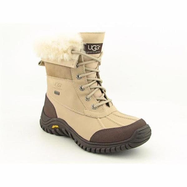 Ugg Australia Women's Adirondack II Beige Leather Boots