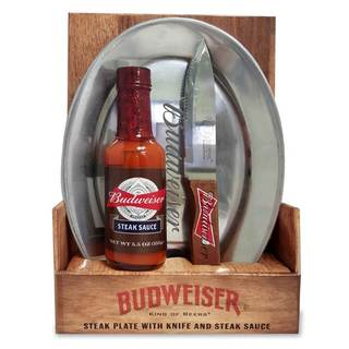 Budweiser Steak Plate