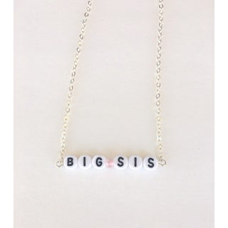 "Be The Envy ""Big Sis"" Beaded Necklace"