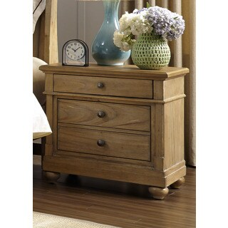 Harbor Sand Cottage 2-Drawer Nightstand