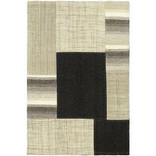 eCarpetGallery Mosaico Wool Hand-woven Kilim (2' x 2'11)
