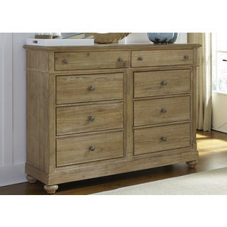 Harbor Sand Cottage 8-Drawer Bureau