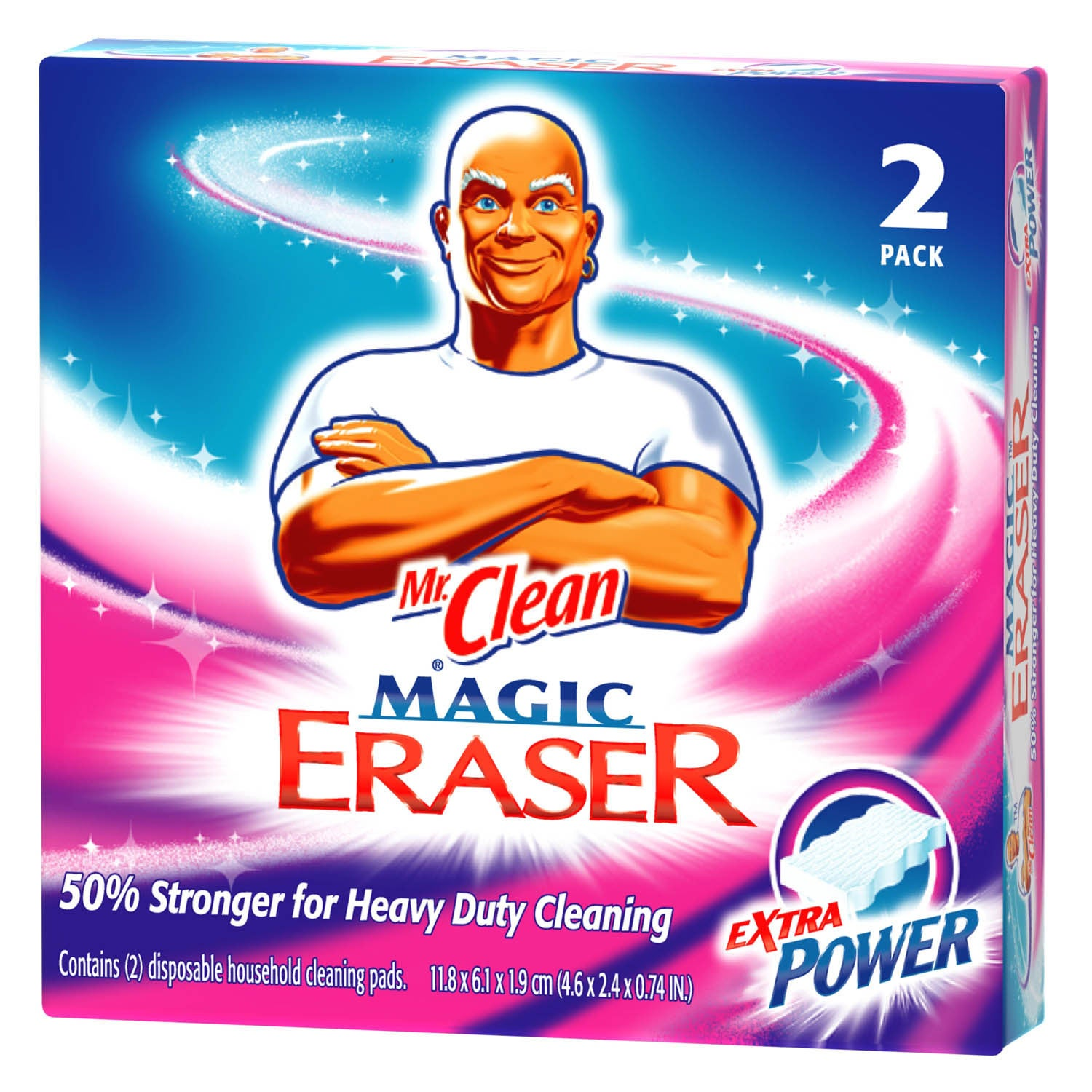 Mr Clean 04249 2-count Mr. Clean Extra Power Magic Eraser...