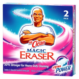 Mr Clean 04249 2-count Mr. Clean Extra Power Magic Eraser