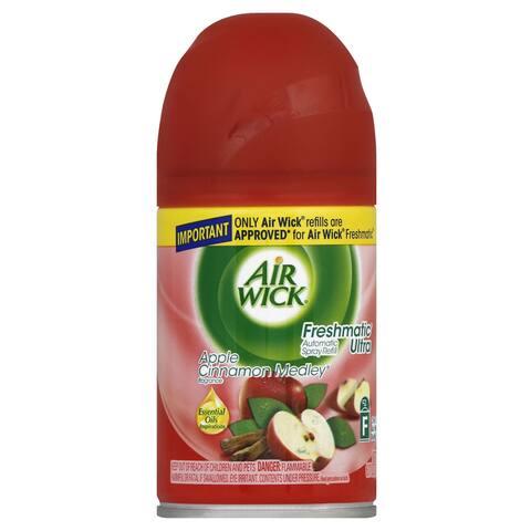 Air Wick 78283 6 Oz Apple Cinnamon Medley Automatic Spray Refill