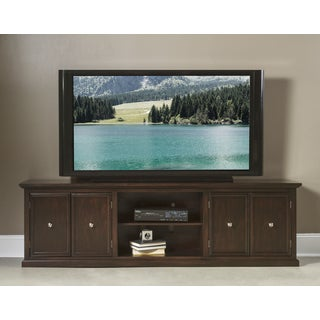 Helena Cherry Wood and Veneer 24-inch TV Console