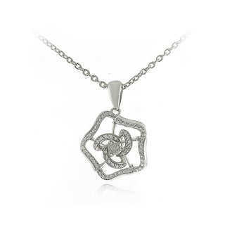Sterling Silver Diamond Accent Necklace