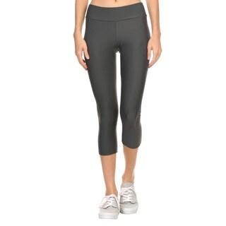 Dippin' Daisy's Women's Charcoal Grey Active Capri Pants