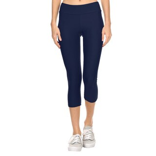 Dippin' Daisy's Grey Active Sports Polyester Capri Pants