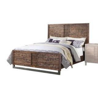 Acme Furniture Andria Bed, Reclaimed Oak