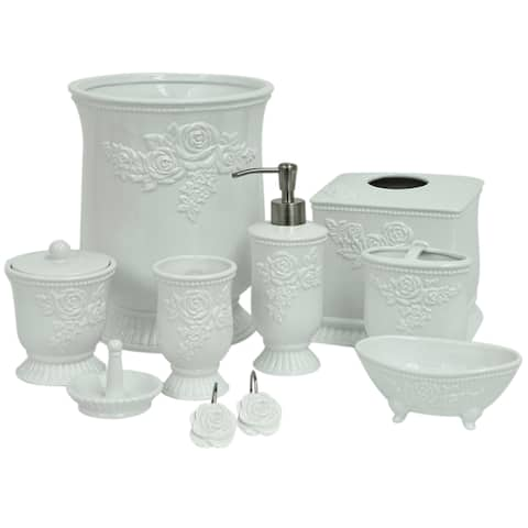 Jessica Simpson Ellie Bathroom Accessory Collection