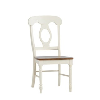 Farmhouse Linen Sand and Bronze Napolean Dining Chair