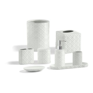 Porcelain Palm Bathroom Accessory Collection (More options available)