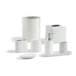 Link to Porcelain Palm Bathroom Accessory Collection Similar Items in Toothbrush Holders