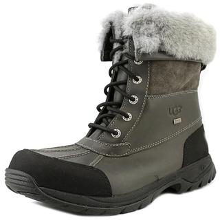 Ugg Australia Men's Butte Grey Leather Boots