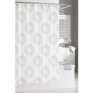 Blue Estrella Shower Curtain