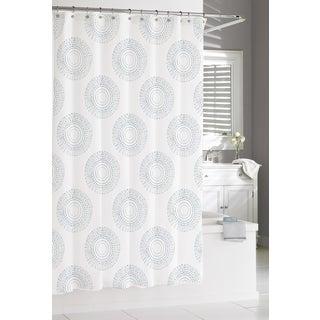 Blue Estrella Shower Curtain